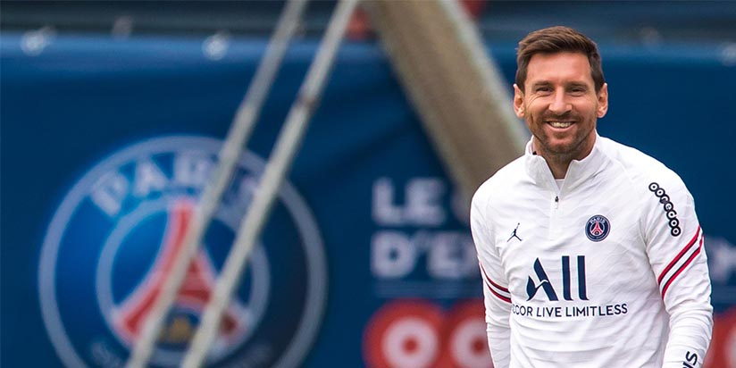 Messi's PSG draw Guardiola's Man City in Champions League group stage