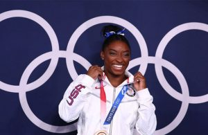 Many 'twisties' and turns, but Simone Biles exits Games a champion