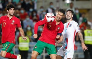 Ronaldo nets hat-trick as Portugal rout Luxembourg