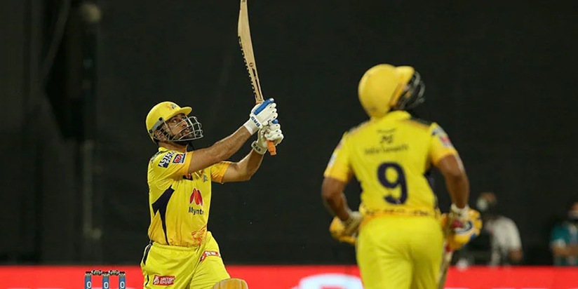 MS Dhoni Turns The Clock Back; Wins Match For CSK With A Six