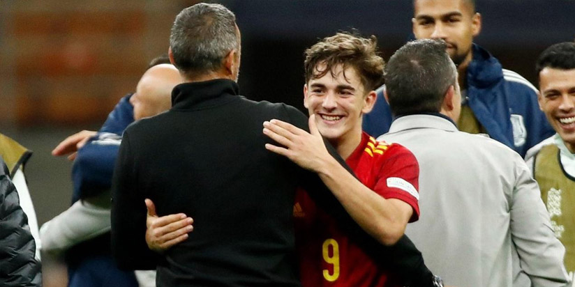 Gavi gives glimpse of Spain's future with debut showing